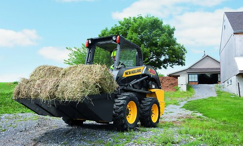 Мини-погрузчики New Holland L218